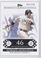 Adrian Gonzalez (2007 MLB Superstar - 100 RBIs) /150