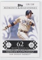 Adrian Gonzalez (2007 MLB Superstar - 100 RBIs) #/150