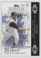 Freddy Sanchez (2006 All-Star - 200 Hits) [Noted] #/150