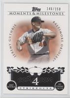 Jeremy Guthrie (2007 Rookie - 123 Strikeouts) [Noted] #/150