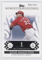 Josh Hamilton (2007 Rookie - 47 RBIs) #/150