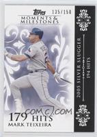 Mark Teixeira (2005 Silver Slugger - 194 Hits) /150