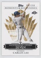 Carlos Lee (2005 Silver Slugger - 41 Doubles) /150