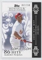 Albert Pujols (2005 NL MVP - 195 Hits) /150