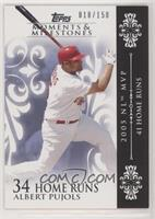Albert Pujols Serial Numbered Baseball Cards