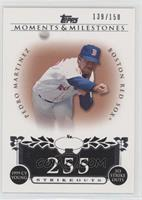 Pedro Martinez (1999 AL Cy Young - 313 Ks) [Noted] #/150