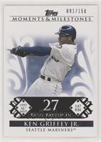 Ken Griffey Jr. (1997 AL MVP - 147 RBI) #/150
