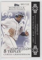 Curtis Granderson (2007 MLB Superstar - 23 Triples) /150