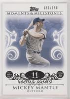 Mickey Mantle (1962 AL MVP - 30 Home Runs) [Noted] #/150