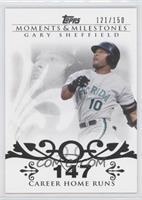 Gary Sheffield (2007 - 450 Career Home Runs (480 Total)) /150
