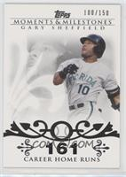 Gary Sheffield (2007 - 450 Career Home Runs (480 Total)) /150