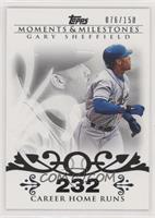 Gary Sheffield (2007 - 450 Career Home Runs (480 Total)) #/150
