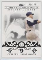 Mickey Mantle (20 Career All-Star Game Selections) /150
