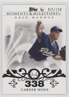 Greg Maddux (Career Milestone - 300 Wins (347 Total)) #/150