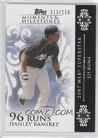 Hanley Ramirez (2007 MLB Superstar - 125 Runs) /150