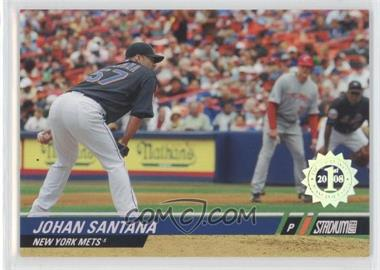 2008 Topps Stadium Club - [Base] - First Day Issue #76 - Johan Santana /599