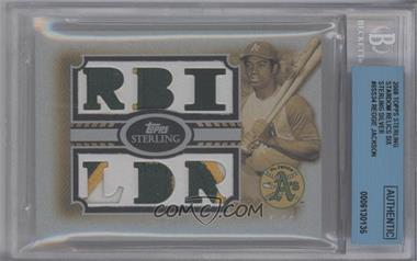 2008 Topps Sterling - [???] #34 - Reggie Jackson [BGS AUTHENTIC]