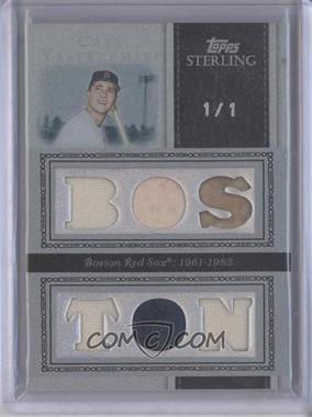 2008 Topps Sterling - [???] #37 - Carl Yastrzemski /1