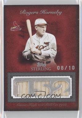 2008 Topps Sterling - [???] #3CS-22 - Rogers Hornsby /10