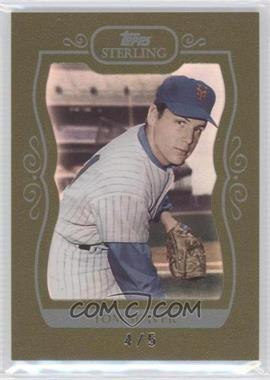 2008 Topps Sterling - [Base] - Gold Frame #92 - Tom Seaver /5