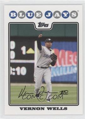 2008 Topps Toronto Blue Jays - [Base] #TOR8 - Vernon Wells