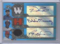 Prince Fielder, Ryan Howard, Eddie Murray #/3