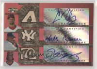 Chris Young, Melky Cabrera, Lastings Milledge /36