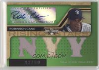 Triple Relic Autograph - Robinson Cano (NYY) #/50