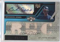 Triple Relic Autograph - Brandon Jones #/10