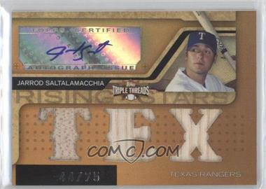 2008 Topps Triple Threads - [Base] - Sepia #182 - Jarrod Saltalamacchia /75