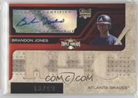 Triple Relic Autograph - Brandon Jones #/99