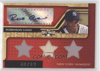 Triple Relic Autograph - Robinson Cano (Stars) #/99