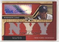 Triple Relic Autograph - Robinson Cano (NYY) #/99