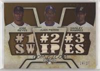 Jose Reyes, Juan Pierre, Hanley Ramirez /27