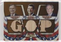 George W. Bush, Ronald Reagan, George H.W. Bush /27