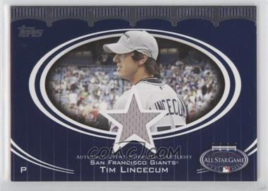 2008 Topps Updates & Highlights - All-Star Stitches #AS-TL - Tim Lincecum