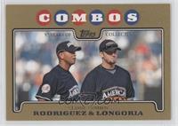 Evan Longoria, Alex Rodriguez #/2,008