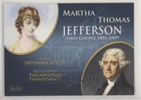 Martha Jefferson, Thomas Jefferson
