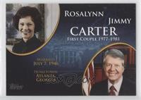 Rosalynn and Jimmy Carter