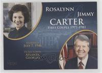 Rosalynn and Jimmy Carter [NoneEXtoNM]