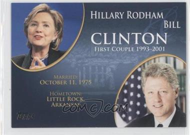 2008 Topps Updates & Highlights - First Couples #FC-40 - Hillary Rodham and Bill Clinton