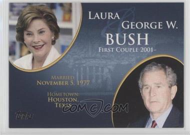 2008 Topps Updates & Highlights - First Couples #FC-41 - Laura and George W. Bush