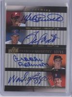 Mike Schmidt, Ron Santo, Brooks Robinson, Wade Boggs /15