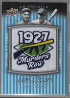 Lou Gehrig, Babe Ruth [Noted] #/50