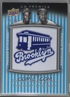 Jackie Robinson, Roy Campanella [Noted] #/50