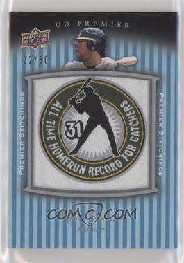 2008 UD Premier - Premier Stitchings - Variation #PSTI-MP - Mike Piazza /50 [EXtoNM]