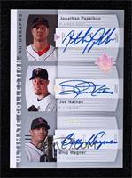 Jonathan Papelbon, Joe Nathan, Billy Wagner #28/50