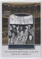 NFL Championship Game 12/28/1958