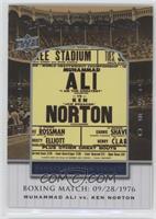 Muhammad Ali vs. Ken Norton