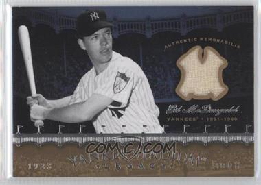 2008 Upper Deck - Multi-Product Insert Yankee Stadium Legacy Memorabilia #YSM-GM - Gil McDougald